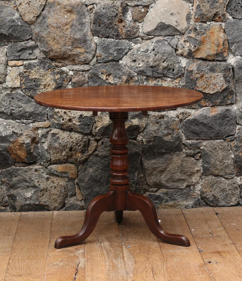 English Oak Wine Table