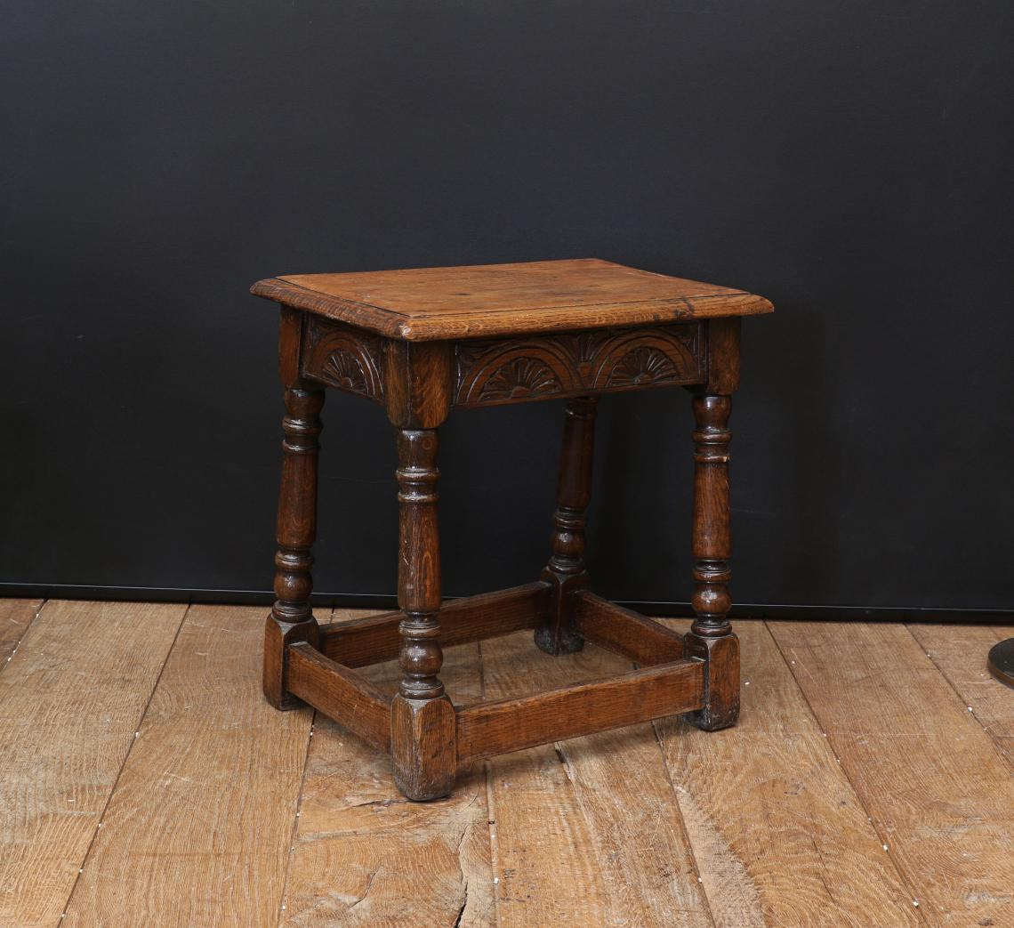 Jacobean Jointed Stool
