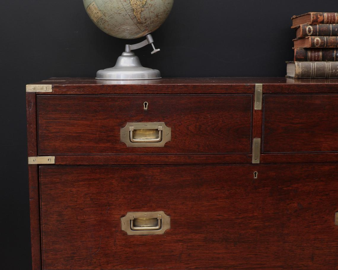 Anglo-Indian 19th Century Military Chest