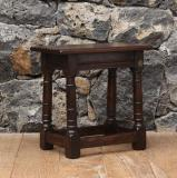 107-98 - English Oak Jointed Stool
