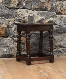 107-95 - English Oak Jointed Stool