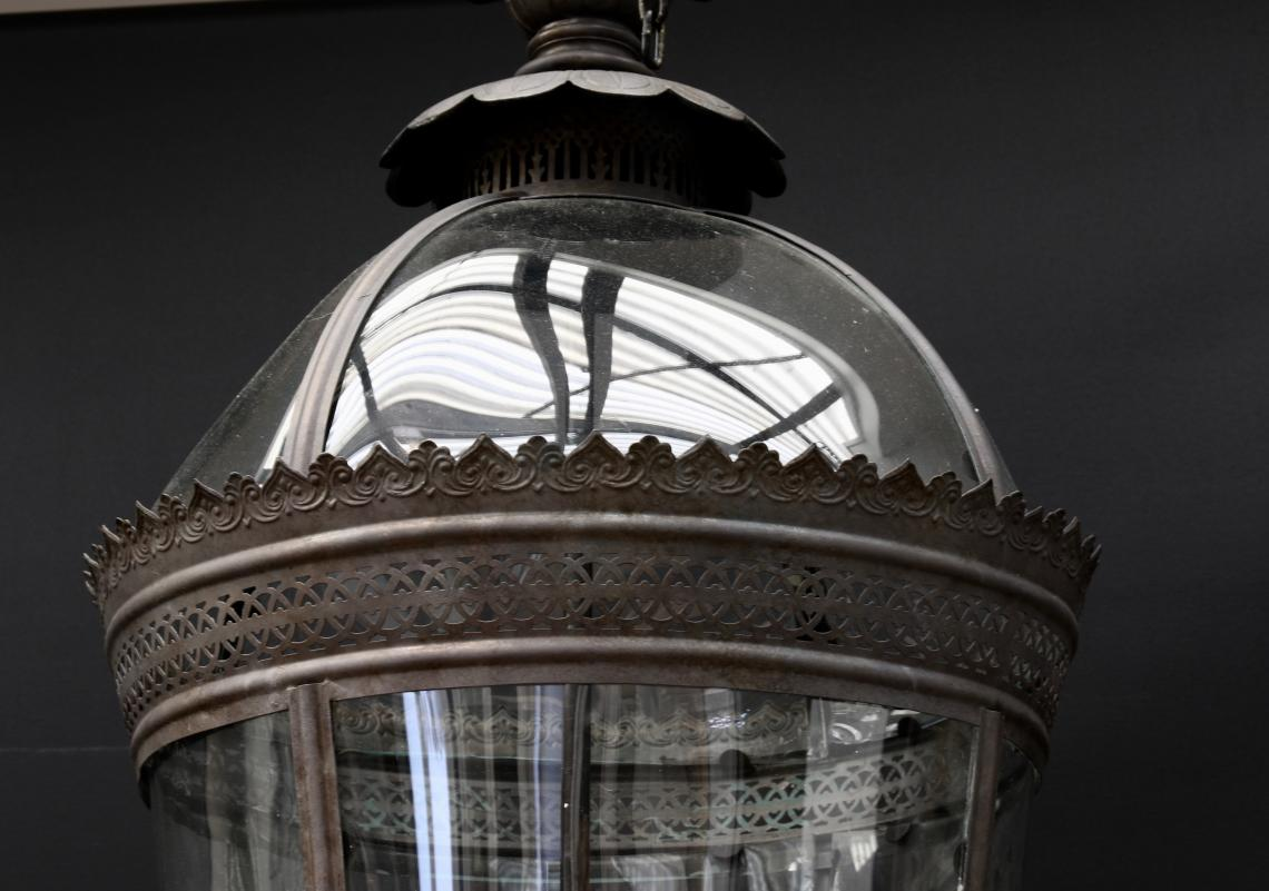 Large Dome Topped Lantern