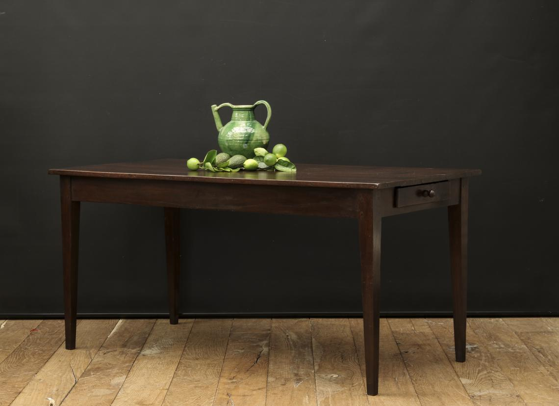 Solid Chestnut French Provincial Table
