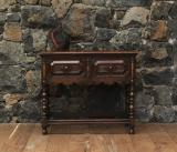 108-22 - Jacobean Two Drawer Side Table