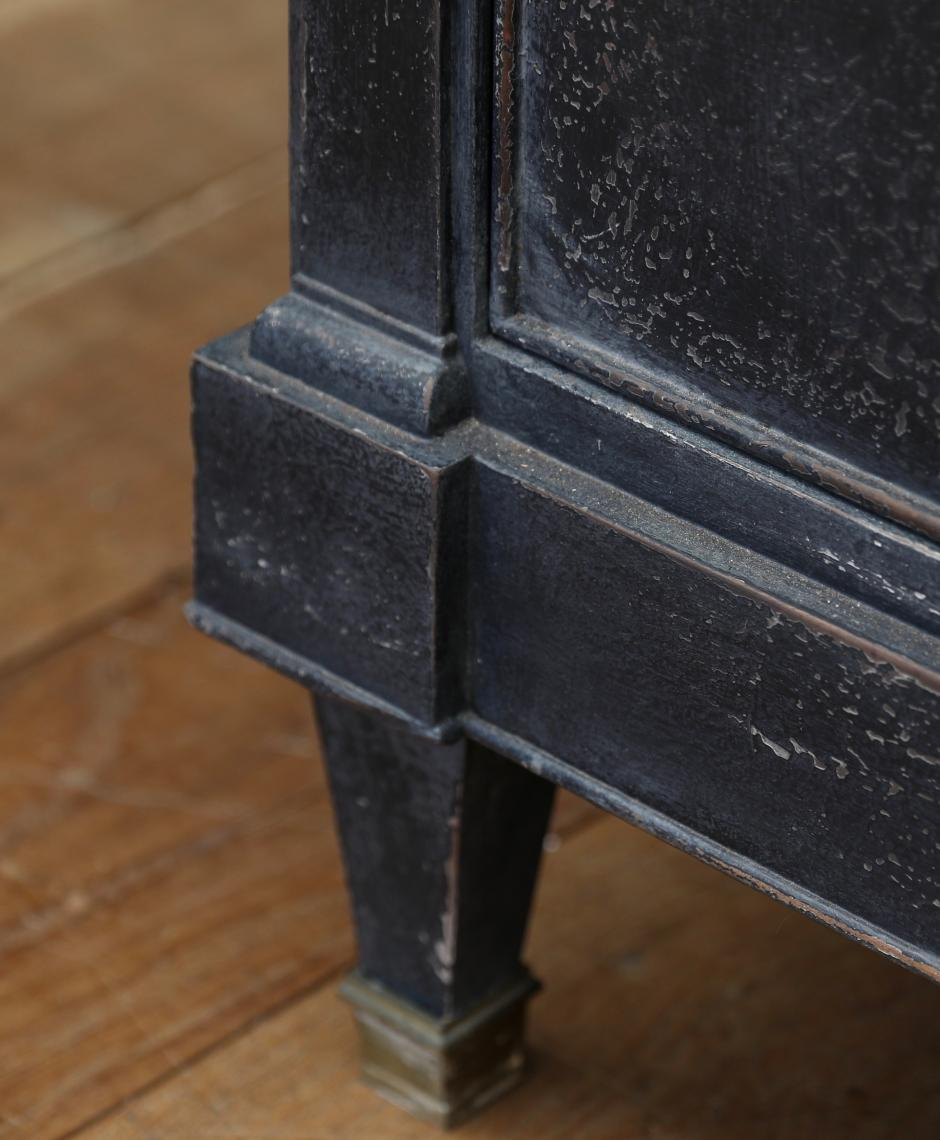 Black Swedish Dresser Base