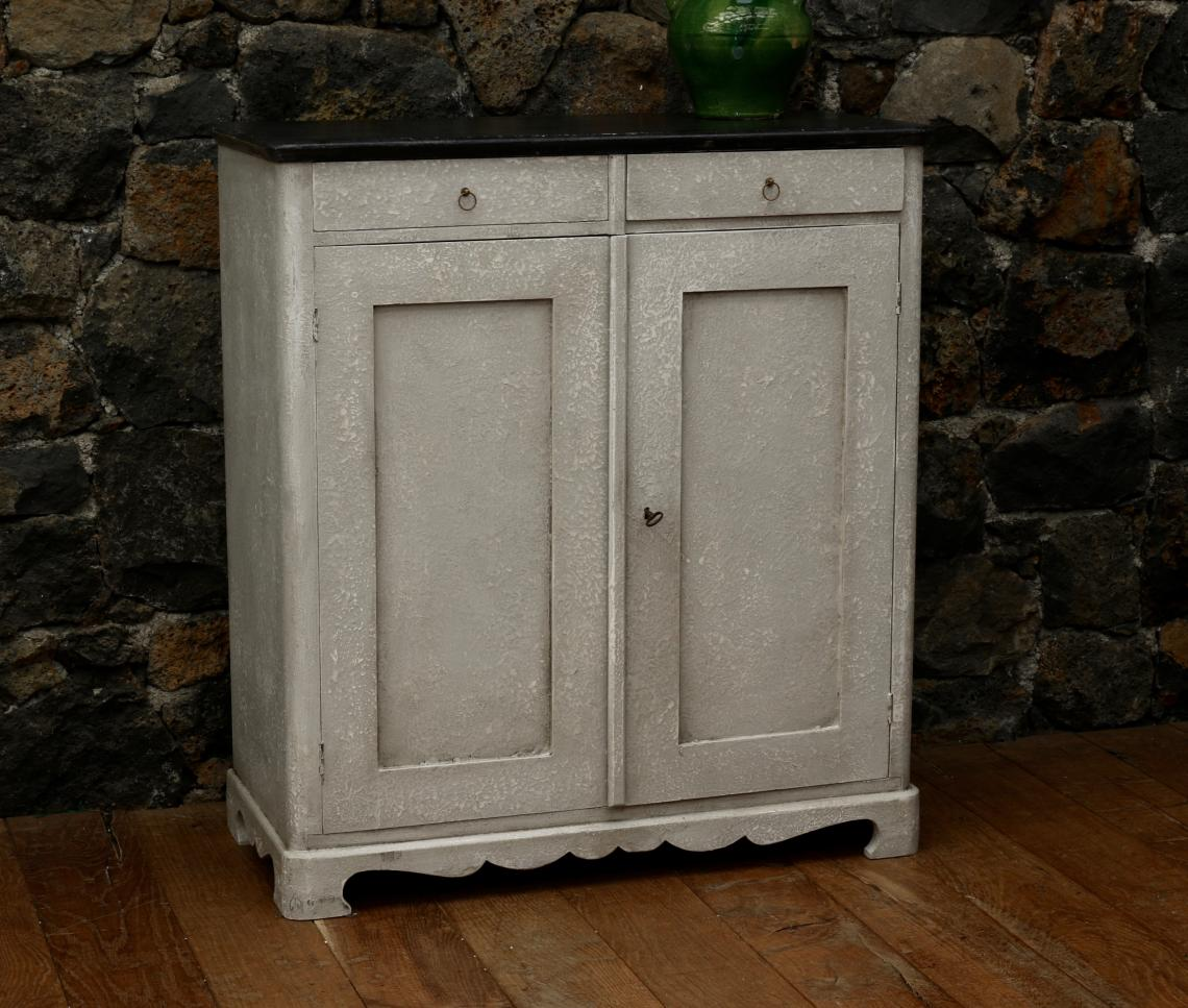 Gustavian Two Drawer Dresser Base