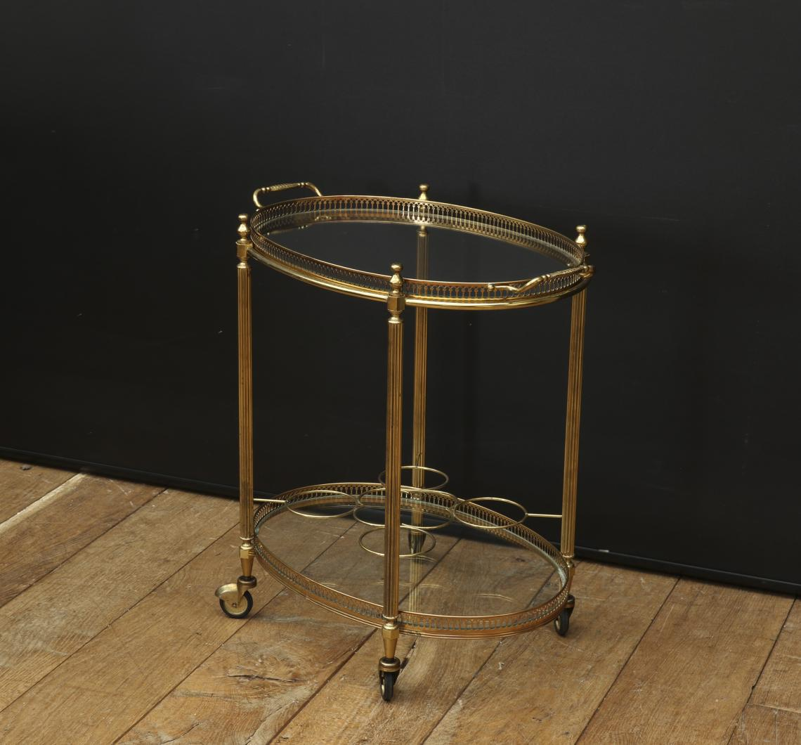 Two-Tiered Drinks Trolley