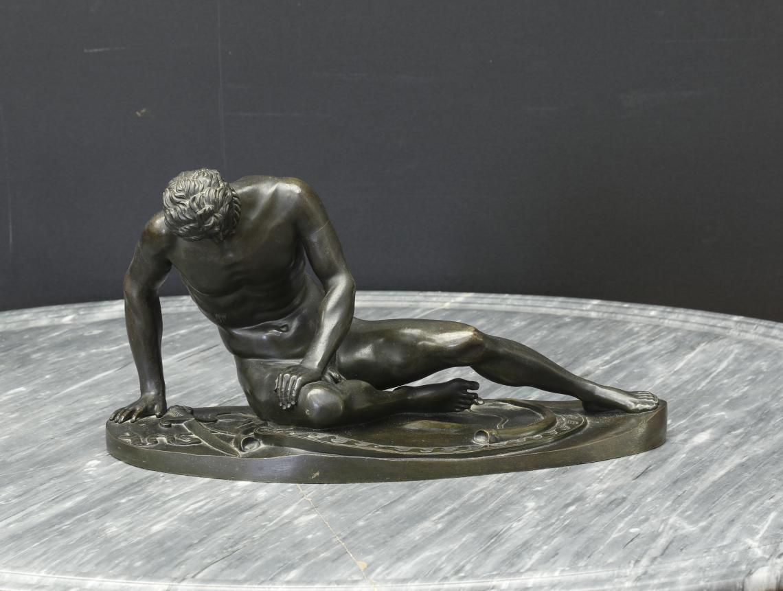 108-70 - Bronze Casting of The Dying Gaul