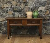 108-78 - A French Provincial Two Drawer Side Table