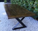 108-86 - Custom Dining Table in Antique Oak