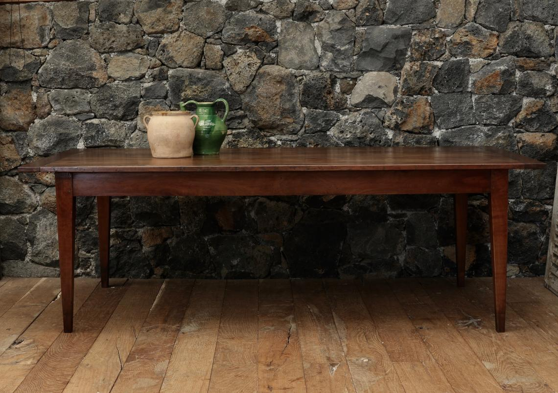 Cleated Cherrywood 18th Century French Provincial Dining Table