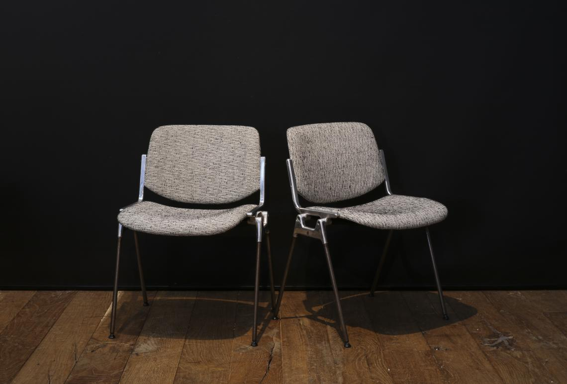 Pair of Castelli Chairs for Hospice