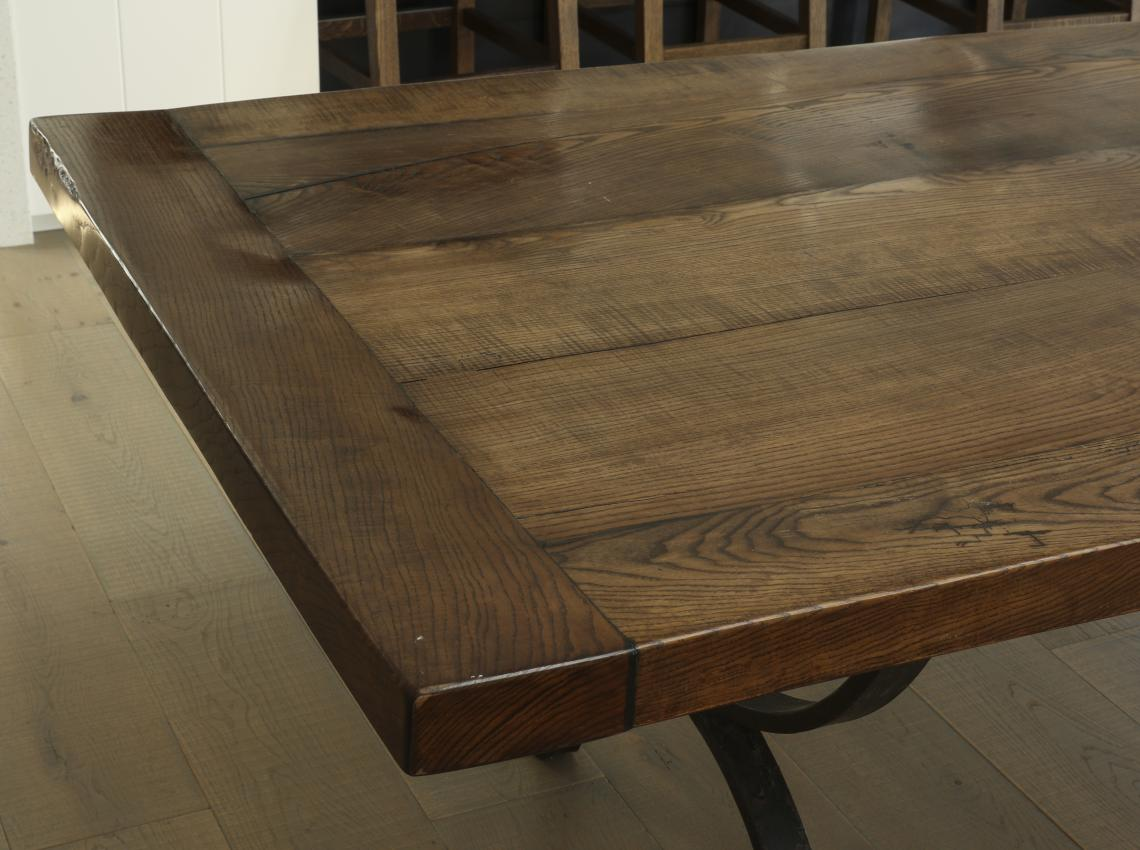Custom Solid Oak Table