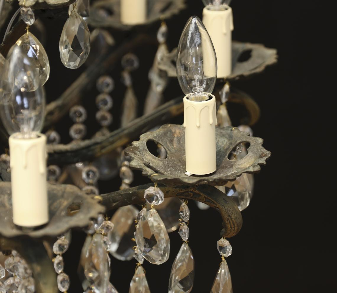 A Twenty Light Chandelier