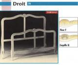 French Bed Frame - 'Droit'