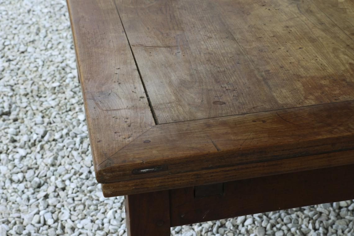French Provincial 18th Century Cherrywood Extension Table