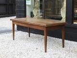 109-14 - French Provincial 18th Century Cherrywood Extension Table