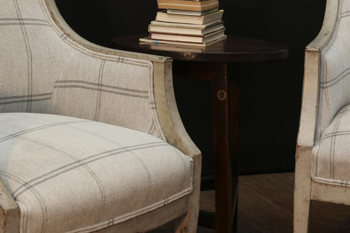 Pair of Gustavian Armchairs