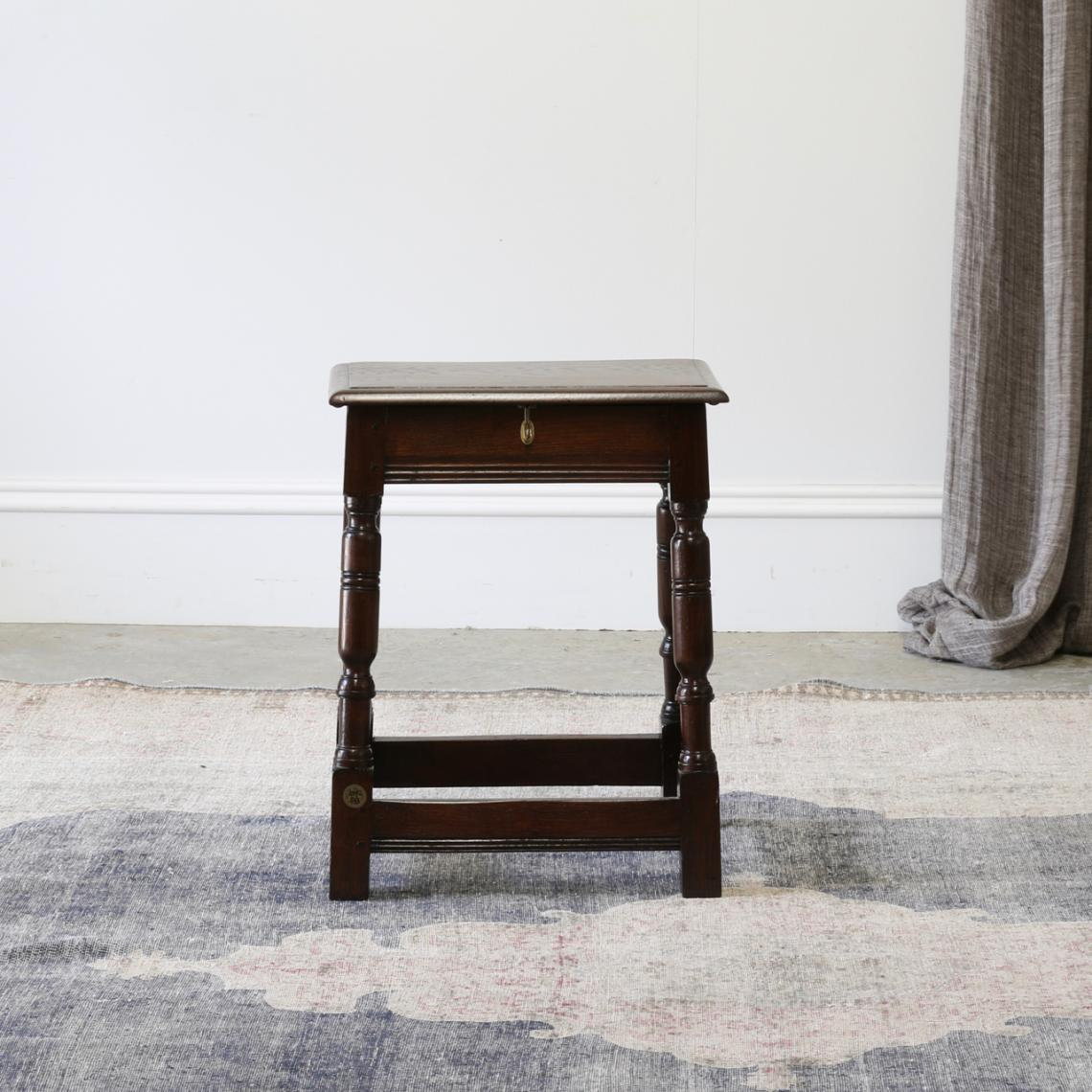 Jointed Stool with Opening Lid