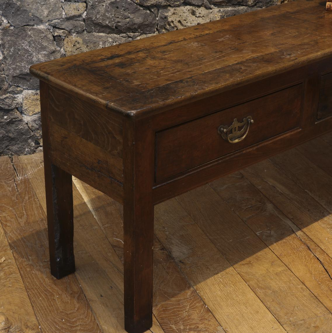 Three Drawer Side Table