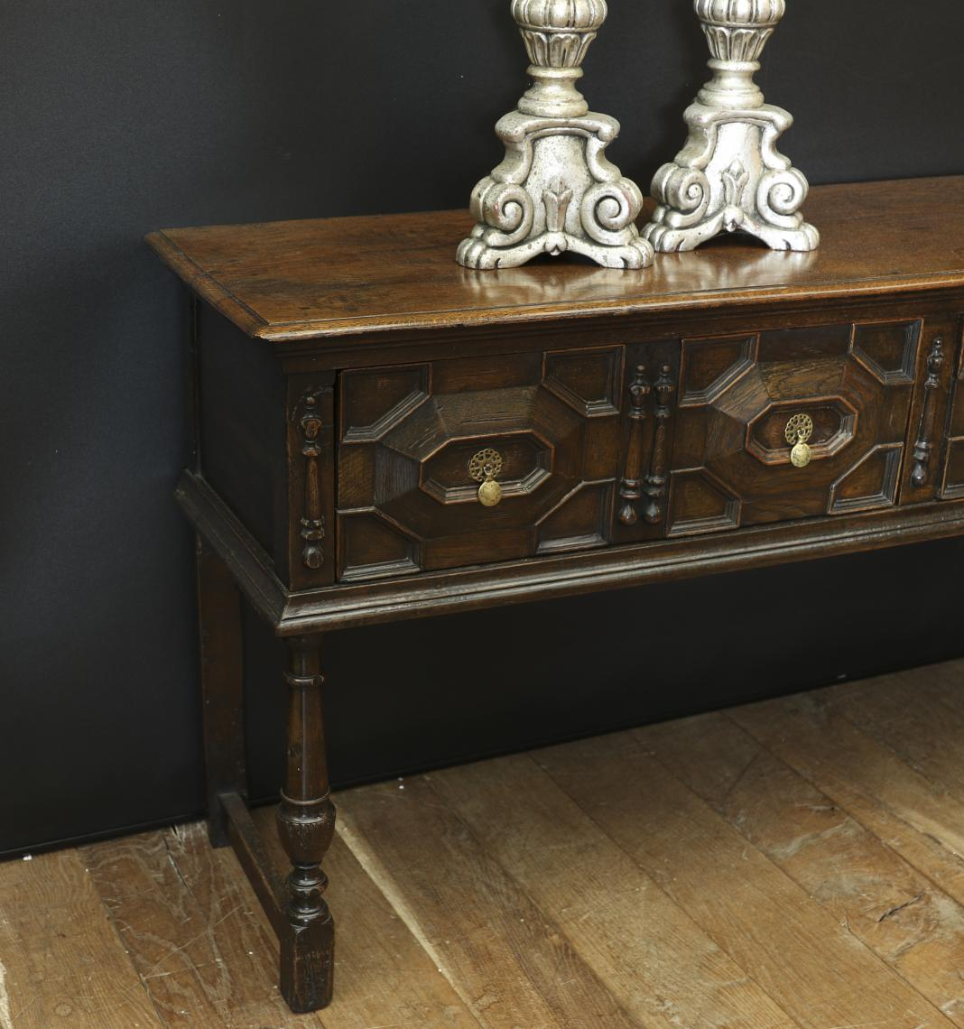 Four Drawer Side Table
