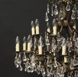 An Amazing 25 Light Chandelier