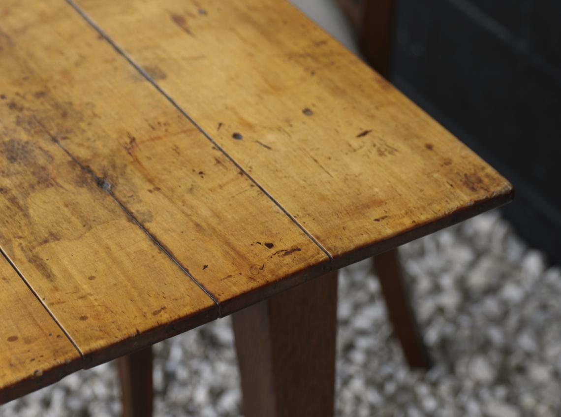 A Pearwood Dining Table