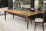 110-12 - A Pearwood Dining Table