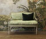 110-76 - Green 2 Seater Armchair