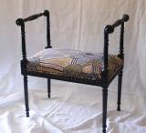 110-90 - Pair of Directoire Footstools