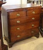 68-24 - George III Oak Chest of Drawers