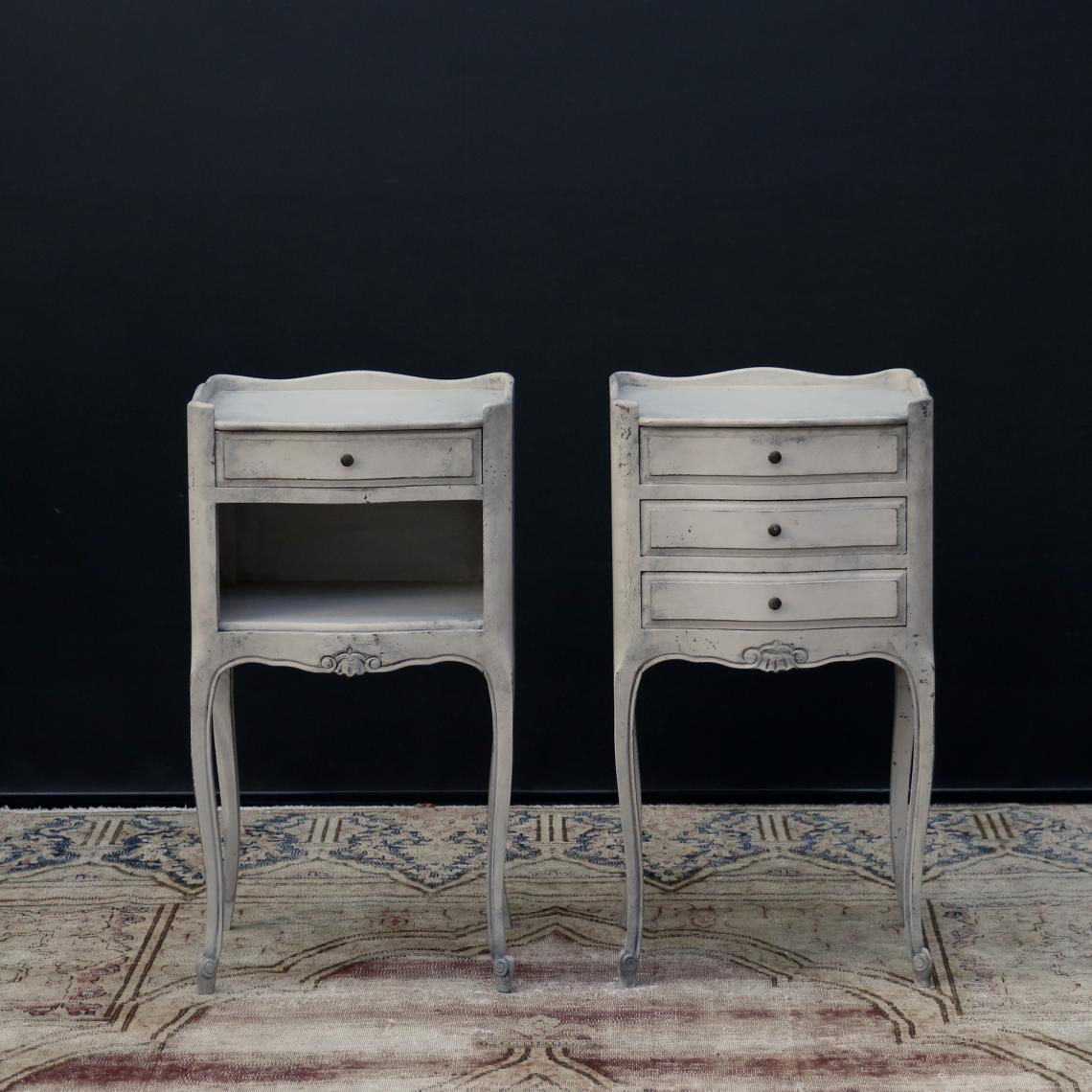 111-17 - Pair of Louis XV-style Bedside Tables
