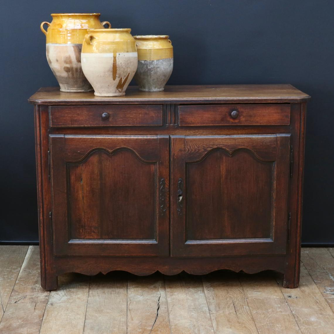 Louis XIV Oak Dresser Base