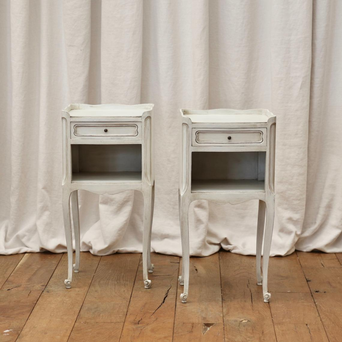 111-95 - Pair of French Bedsides