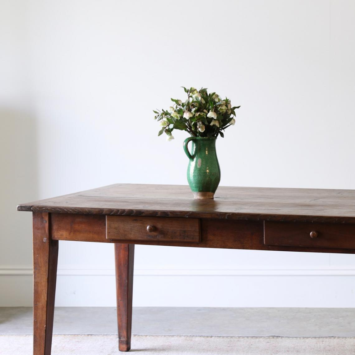 112-48 - Oak Dining Table