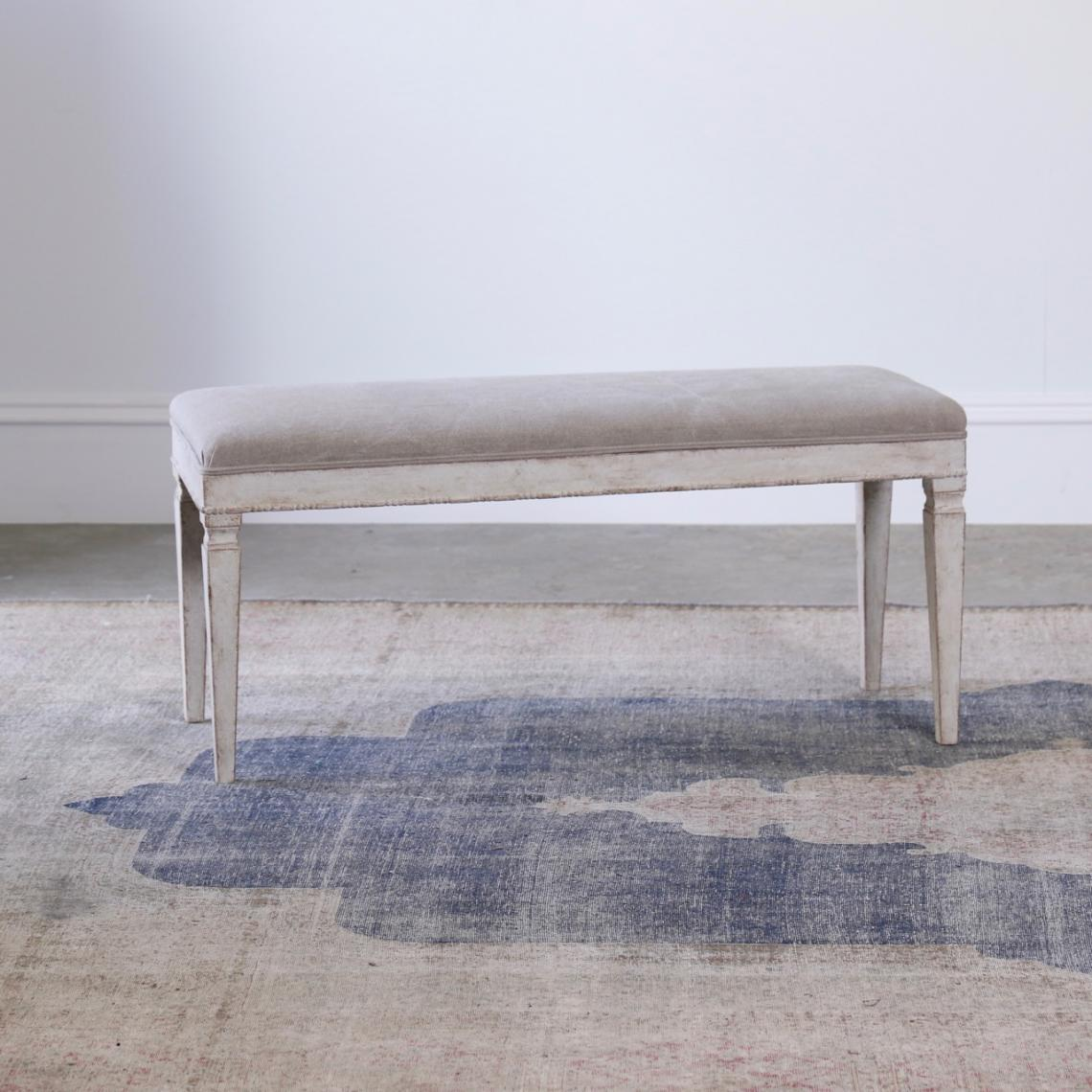 Long Swedish Ottoman