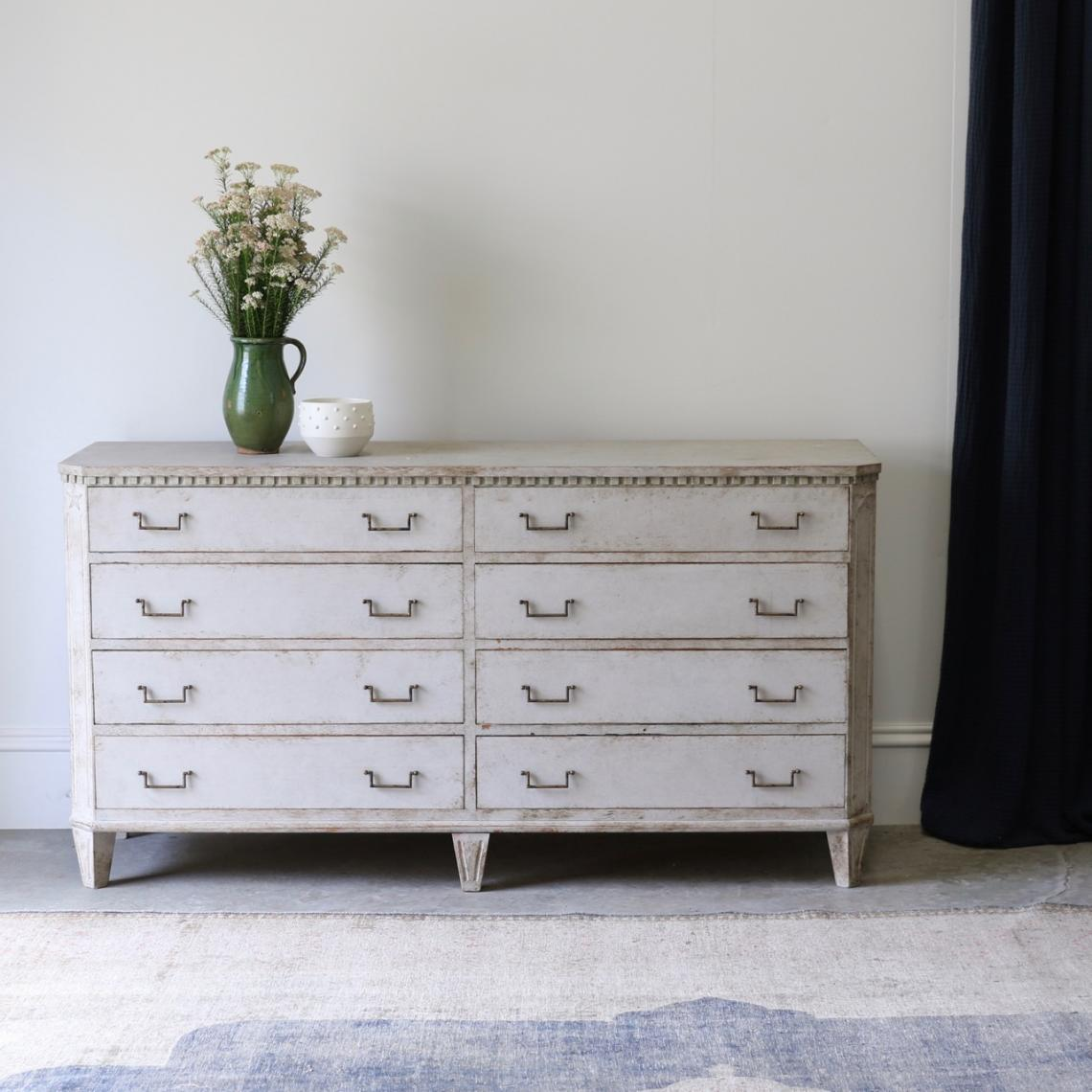 112-57 - Swedish Chest of Drawers