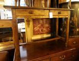 66-34 - Two Drawer Chestnut and Fruitwood