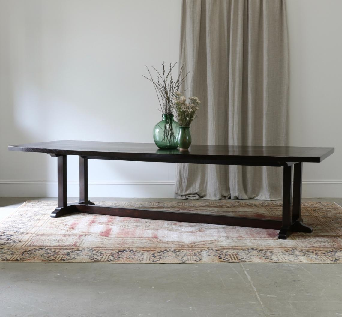 113-12 - Simple Refectory Base Dining Table