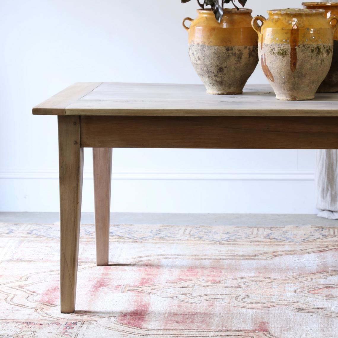 Bleached Oak Dining Table