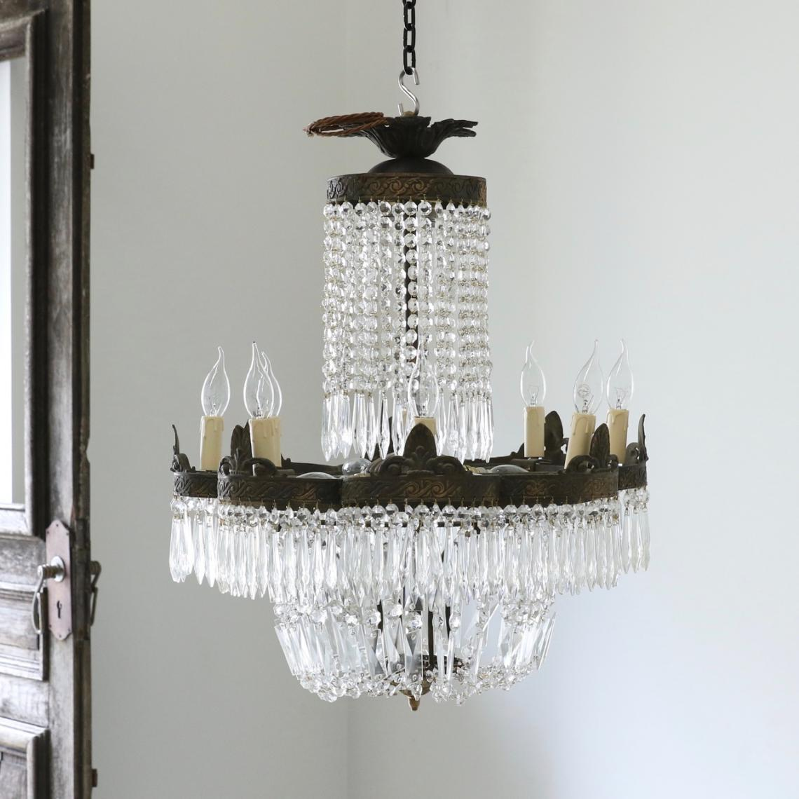 113-39 - Pair of French Chandeliers