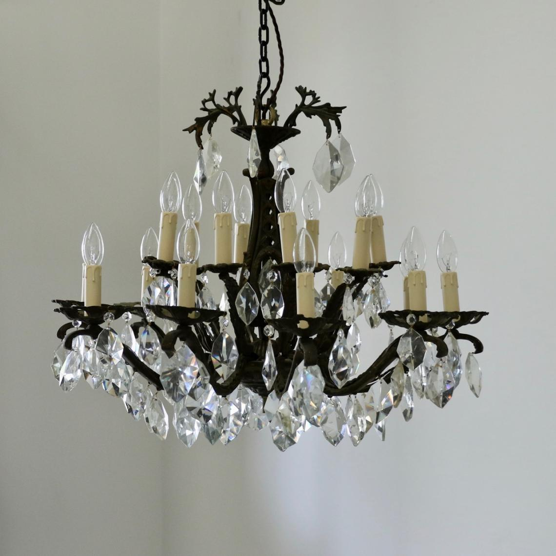 113-40 - Pair of French Chandeliers