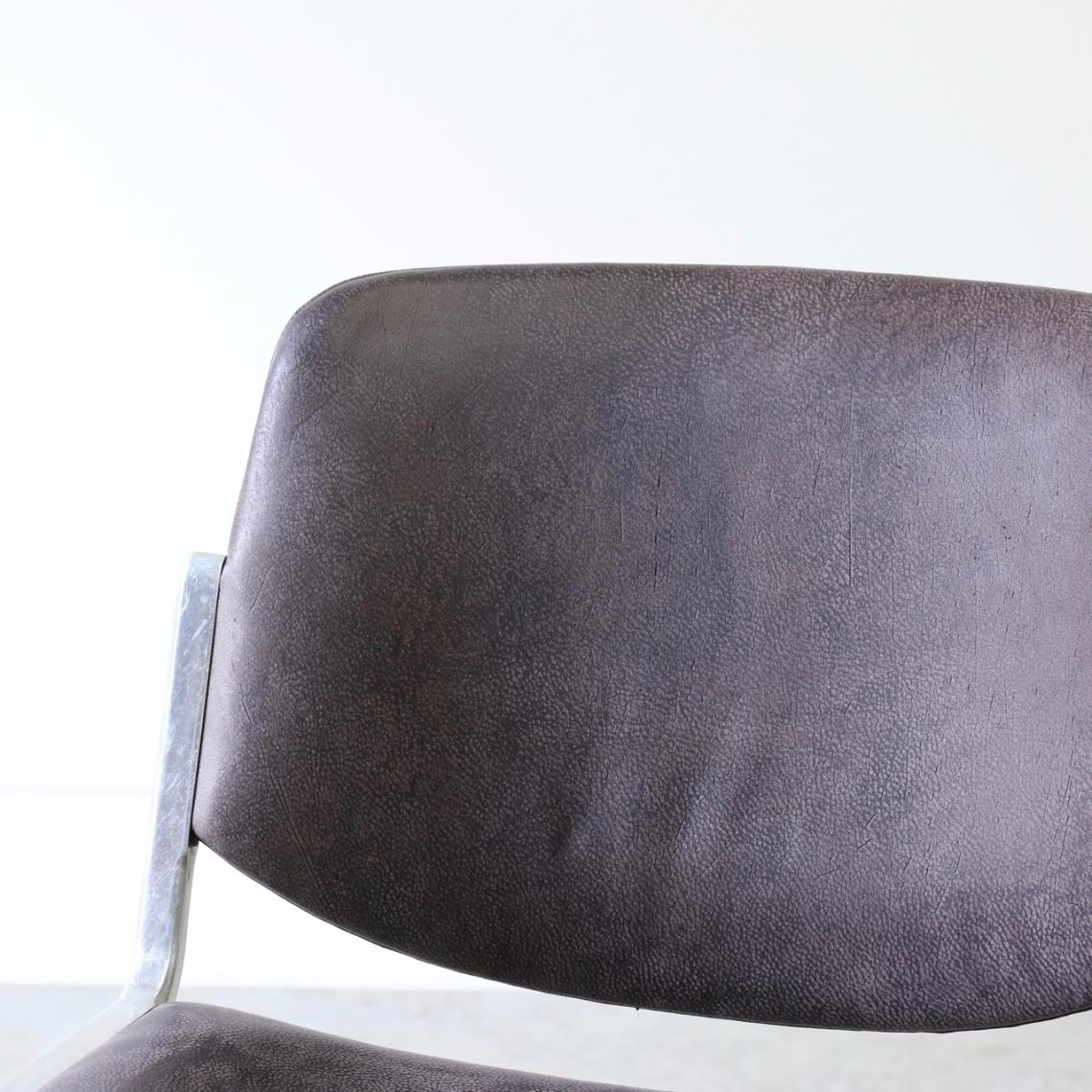Castelli Chair in Namibian Leather