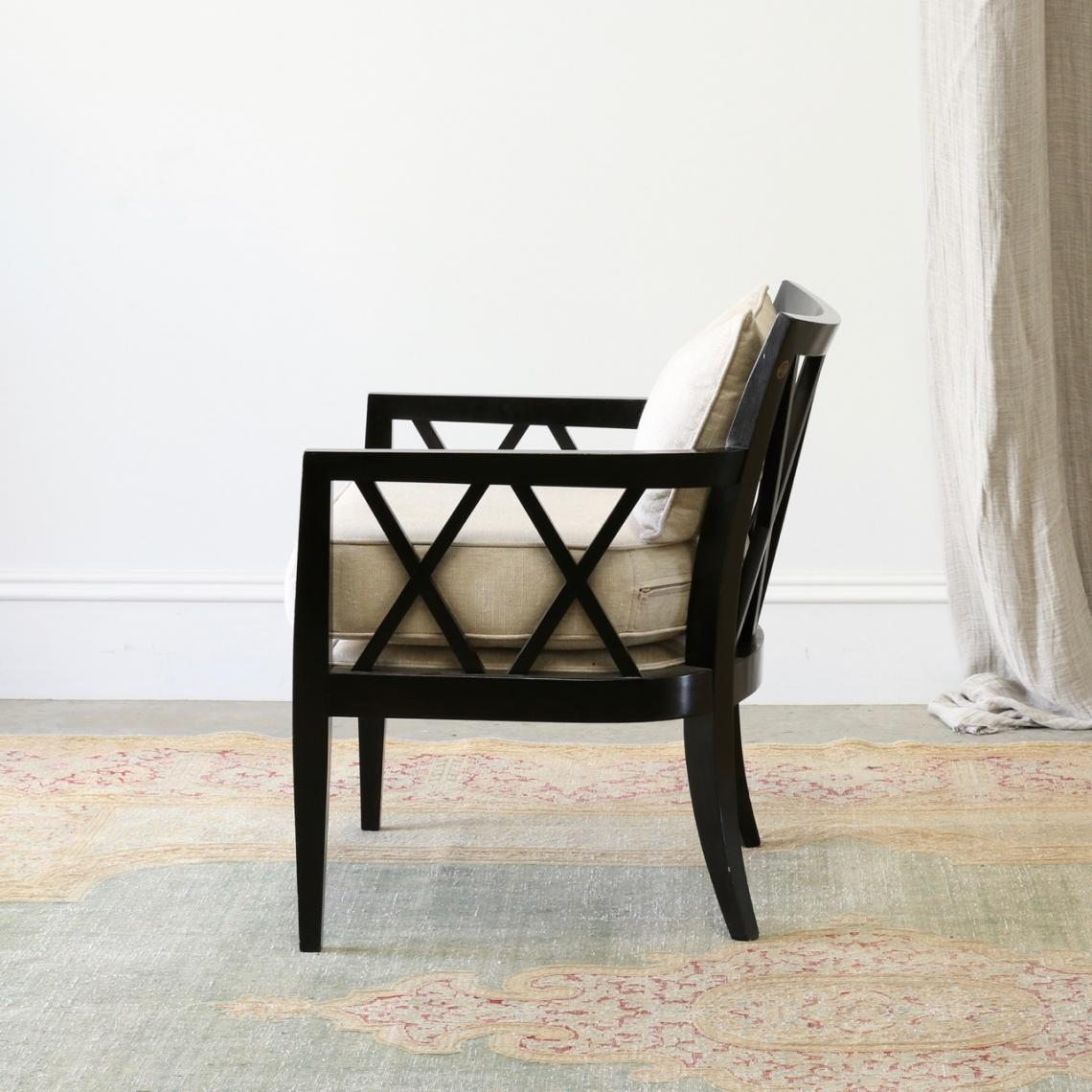 Cross-Back Armchair