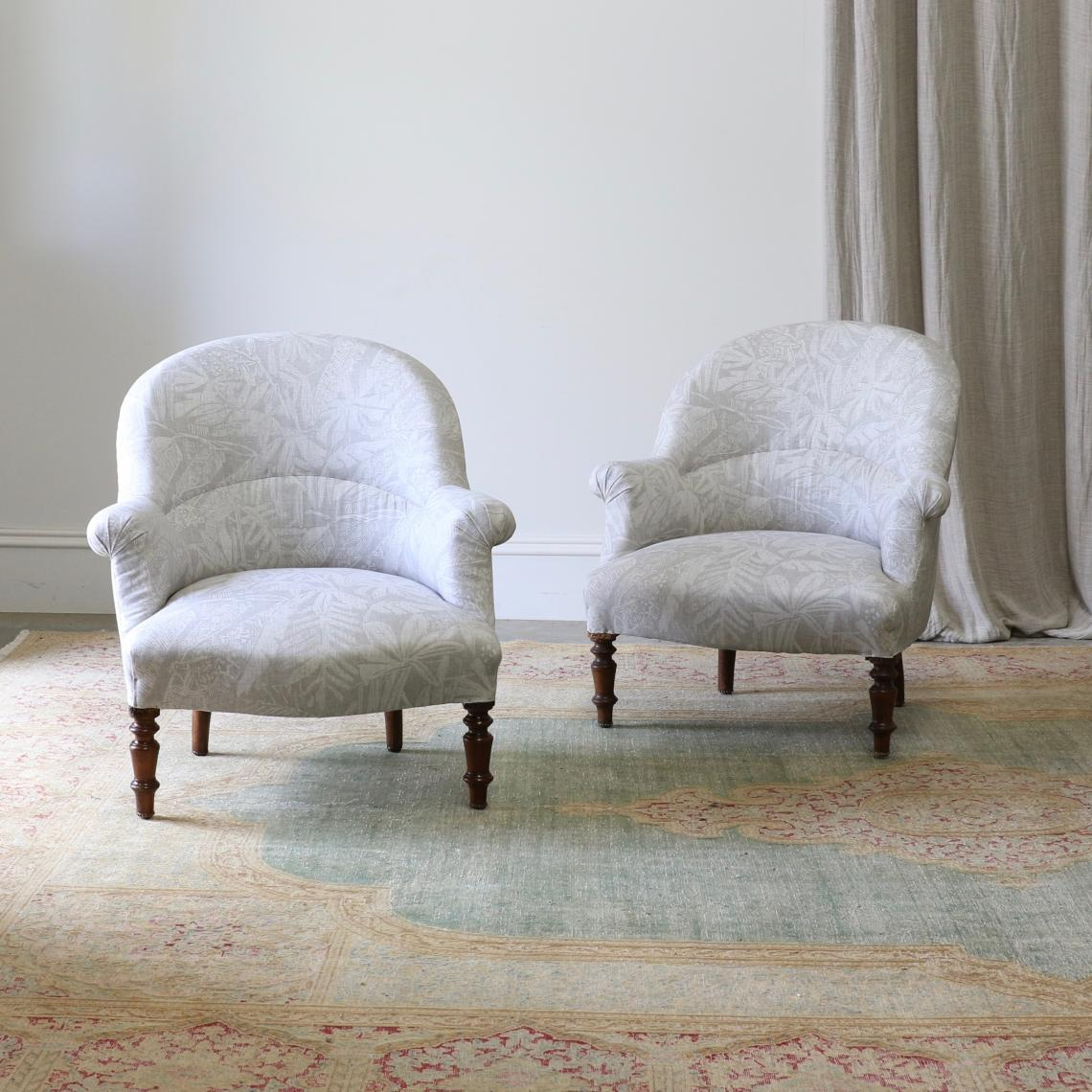 113-98 - French Tub Chairs
