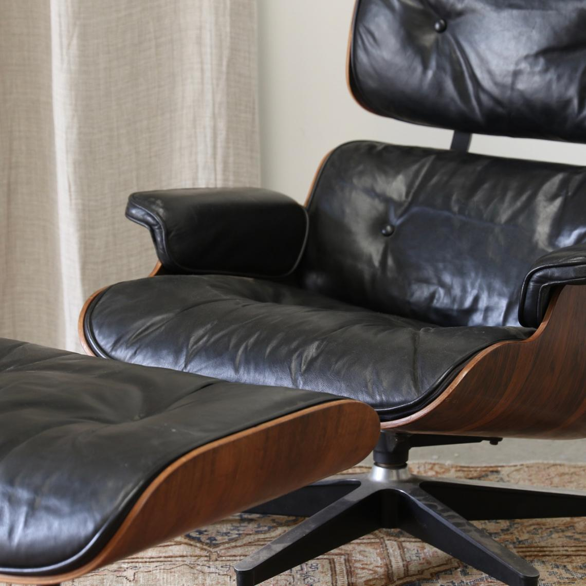 Eames Lounge Chair & Footstool