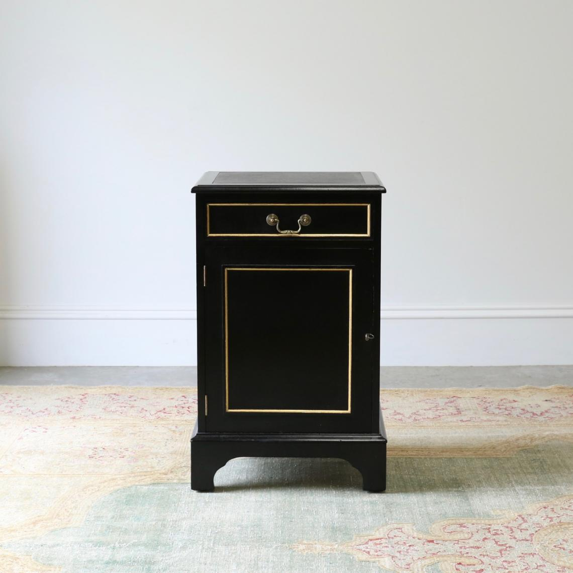 Ebonised Printer Cupboard