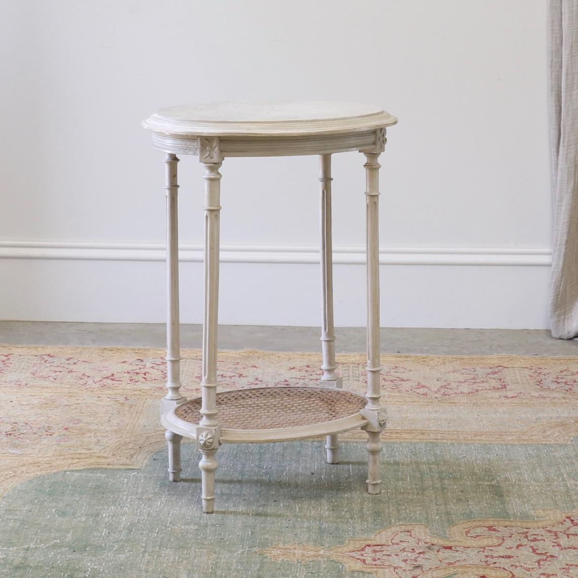 114-07 - Small Oval Table
