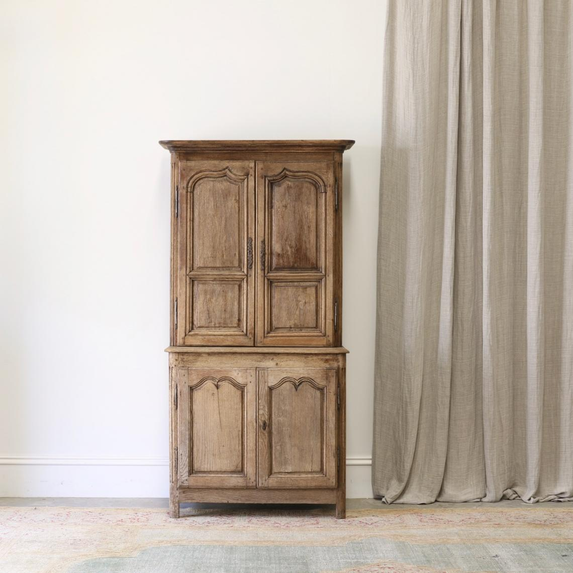 114-12 - French Cupboard & Bookcase