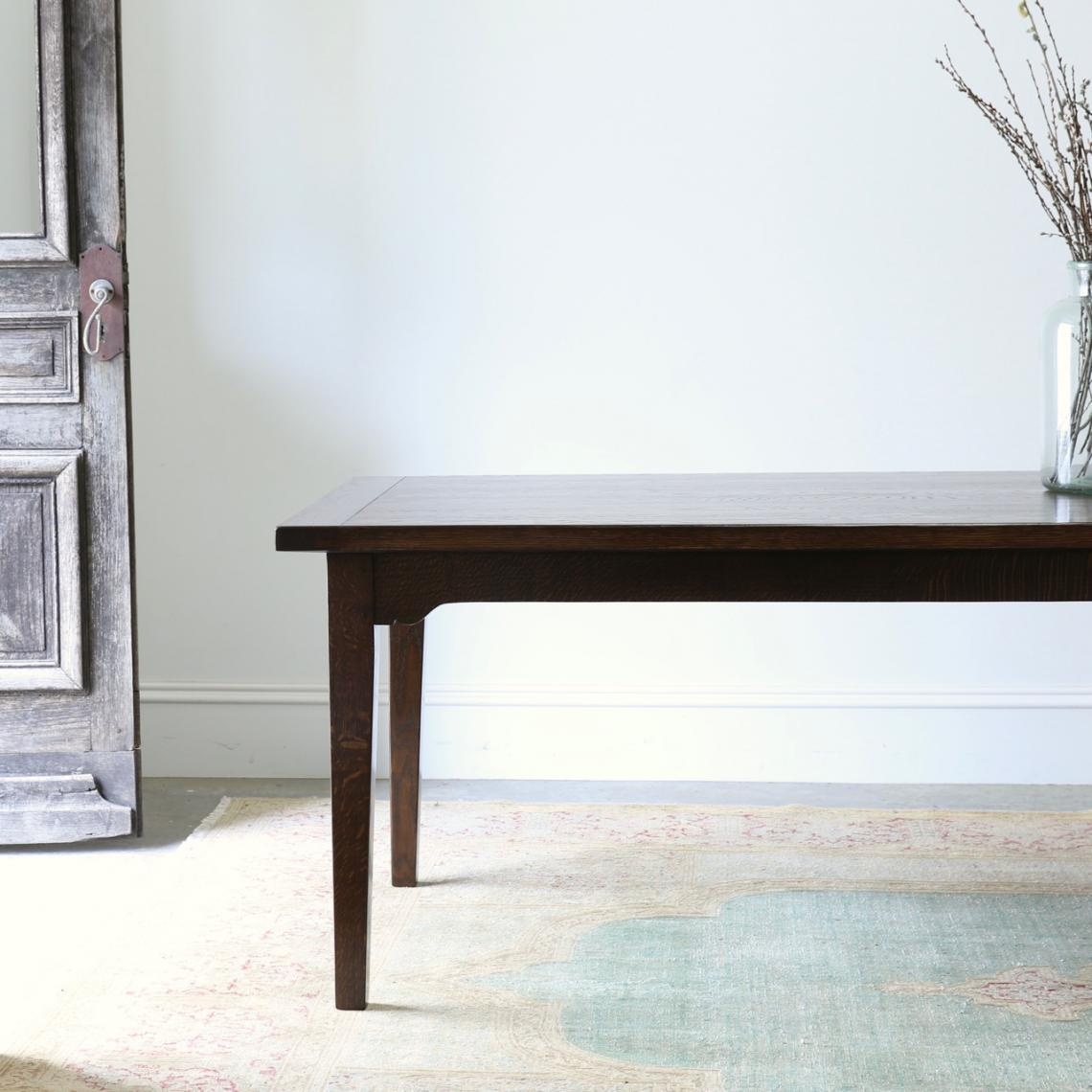 114-17 - JS Edition Tapered Leg Dining Table